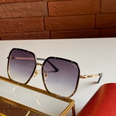 1:1 original leather Cartier Sunglasses for women CA0821 00918 top quality