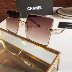 1:1 original leather Chanel Sunglasses on sale CH5431-A 01100 top quality