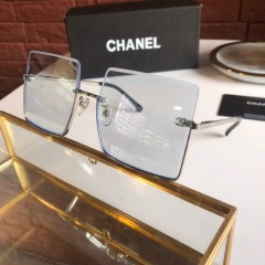 1:1 original leather Chanel Sunglasses on sale CH5431-A 01101 top quality