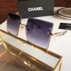 1:1 original leather Chanel Sunglasses on sale CH5431-A 01098 top quality