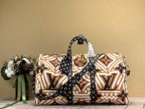 1:1 Original leather Louis Vuitton tote bag travel bag keepall 45 M44688/M41418 01488 top quality
