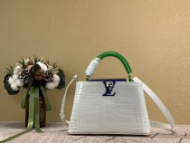 1:1 Original leather Louis Vuitton tote bag capuciness pm M97995/M94519 01487 top quality