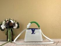 1:1 Original leather Louis Vuitton tote bag capuciness mini M97995/M48865 01486 top quality