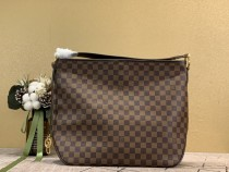 1:1 Original leather louis vuitton tote bag delightful MM M50156 01528 top quality