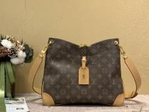 1:1 Original leather louis vuitton shoulder bag odeon mm M45354/M45355 01561 top quality