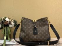 1:1 Original leather louis vuitton shoulder bag odeon mm M45354/M45355 01560 top quality