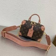1:1 Original leather louis vuitton tote bag with strap 01582 top quality
