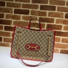 1:1 Original leather Gucci tote shoulder bag sale #621144 01591 top quality