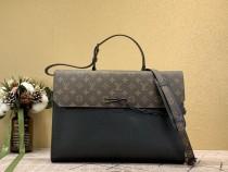1:1 Original leather louis vuitton men tote shopping bag M30591 01577 top quality