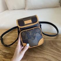 1:1 Original leather louis vuitton nigo camera bag M69538 01601 top quality