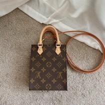1:1 Original leather louis vuitton tote bag mini petit sac plat M57097/M69441 01597 top quality