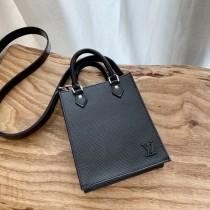 1:1 Original leather louis vuitton tote bag mini petit sac plat M57097/M69441 01600 top quality