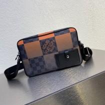 1:1 Original leather louis vuitton messenger bag alpha M40408 01621 top quality