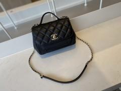 1:1 Original leather Chanel tote shoulder bag A93749 01652 top quality