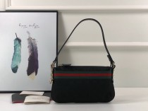 1:1 Original leather Gucci shoulder bag for sale #145970 01642 top quality