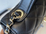 1:1 Original leather Chanel tote shoulder bag A93749 01652 top quality