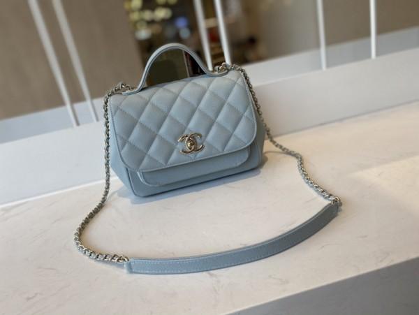 1:1 Original leather Chanel tote shoulder bag A93749 01650 top quality