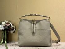 1:1 Original leather louis vuitton tote shoulder bag melie M45522 01693 top quality