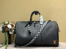1:1 Original leather louis vuitton tote travel bag keepall 45 M89898/M57416 01696 top quality