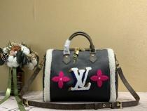 1:1 Original leather louis vuitton tote bag speedy 30 M56966 01694 top quality