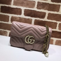 1:1 Original leather gucci shoulder/cross body bag sale #476809 01711 top quality