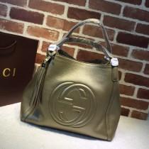 1:1 Original leather gucci tote bag sale #282309 01715 top quality