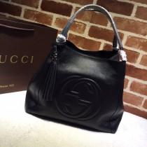 1:1 Original leather gucci tote bag sale #282309 01713 top quality