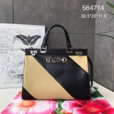 1:1 Original leather gucci tote bag with strap #564714 01738 top quality