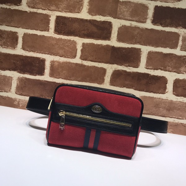 1:1 Original leather gucci pocket bag purse bag #517076 01749 top quality