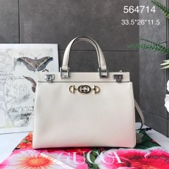 1:1 Original leather gucci tote bag with strap #564714 01737 top quality