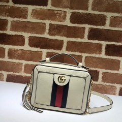 1:1 Original leather gucci tote bag #602576 01742 top quality