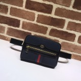 1:1 Original leather gucci pocket bag purse bag #517076 01750 top quality