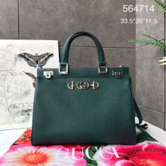 1:1 Original leather gucci tote bag with strap #564714 01736 top quality