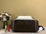 1:1 Original leather louis vuitton tote new backpacks M85146 01755 top quality