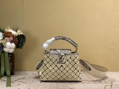 1:1 Original leather louis vuitton tote bag capucines M98426/M94519 01764 top quality