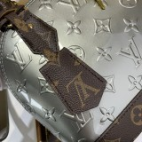 1:1 Original leather louis vuitton tote bag alma bb M90584/M53152 01766 top quality