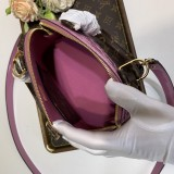 1:1 Original leather louis vuitton tote bag alma bb M90584/M53152 01767 top quality