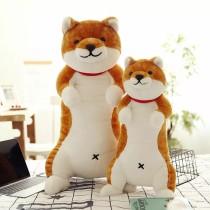 日本shiba柴犬公仔狗狗毛絨玩具人形睡覺抱枕生日情人節禮物今日特價低至NT$549