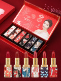 上新了故宮中國風口紅套裝禮盒裝網紅古風聯名限量版款套盒持久女