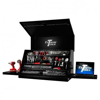 Extreme Tools 41  Deluxe Portable Workstation – Black/Red