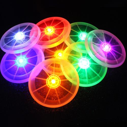 Pet Supplies Dog Toy LED Luminous Frisbee Environmentally Friendly Dog toys