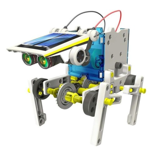 Solar Robot Kit DIY Toys Transformation Robot Kit with Robot Educational Gift Toys