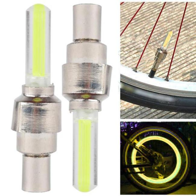 Bicycle Light Tire Lighting with Batteries Spokes MTB Bicycle Lamp