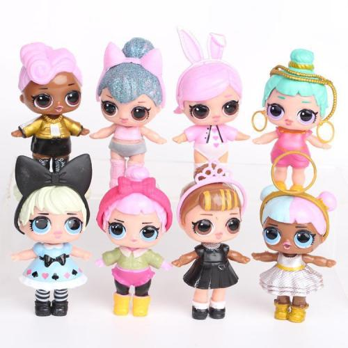 Original Dolls DIY Toys Drawing MGA Dolls with Clothing and Footwear Milk Bottle Sister