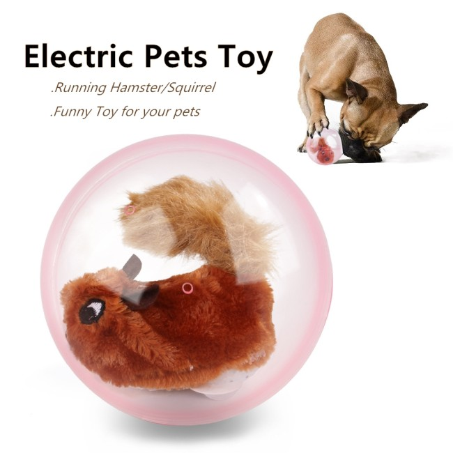 Electronic Pet Toy Dog ​​Ball Cat Running Hamster Animal Ball Toys