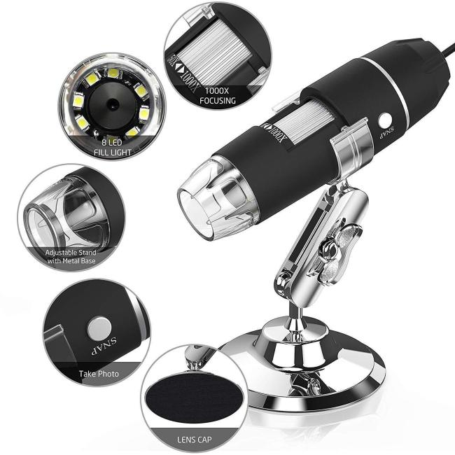 3in1 1000X Windows / MAC / Android / IPHONE / microscope (70%OFF)
