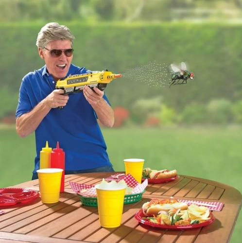 PEST BUSTER!-FLIES SALT GUN -SAY GOODBYE TO PEST INVASION!(FREE SHIPPING )