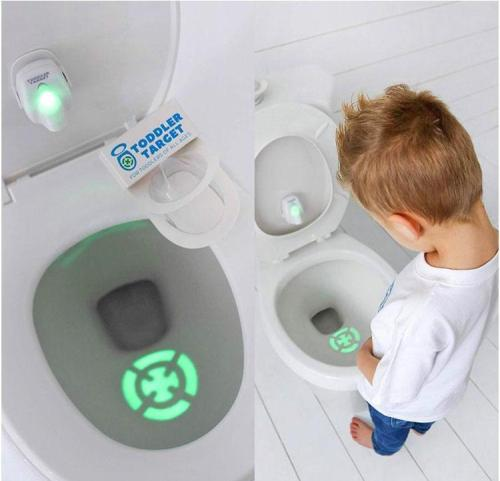This Genius Target Toilet Light Helps Potty Train Your Kids (Or Husband)!