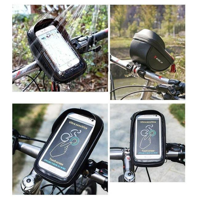 Bicycle/Motorcycle Waterproof Phone & Wallet Holder