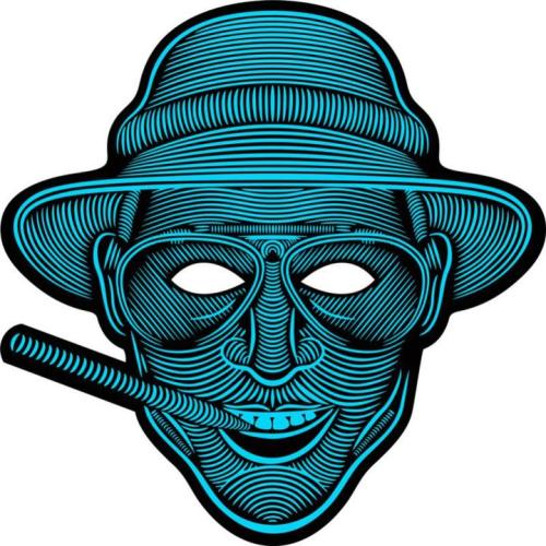 LED Sound Reactive Mask